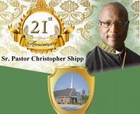 Pastor Shipp's 21st Anniversary