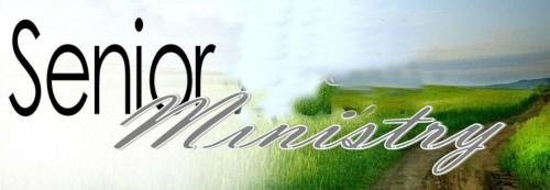 Senior's Ministry Day